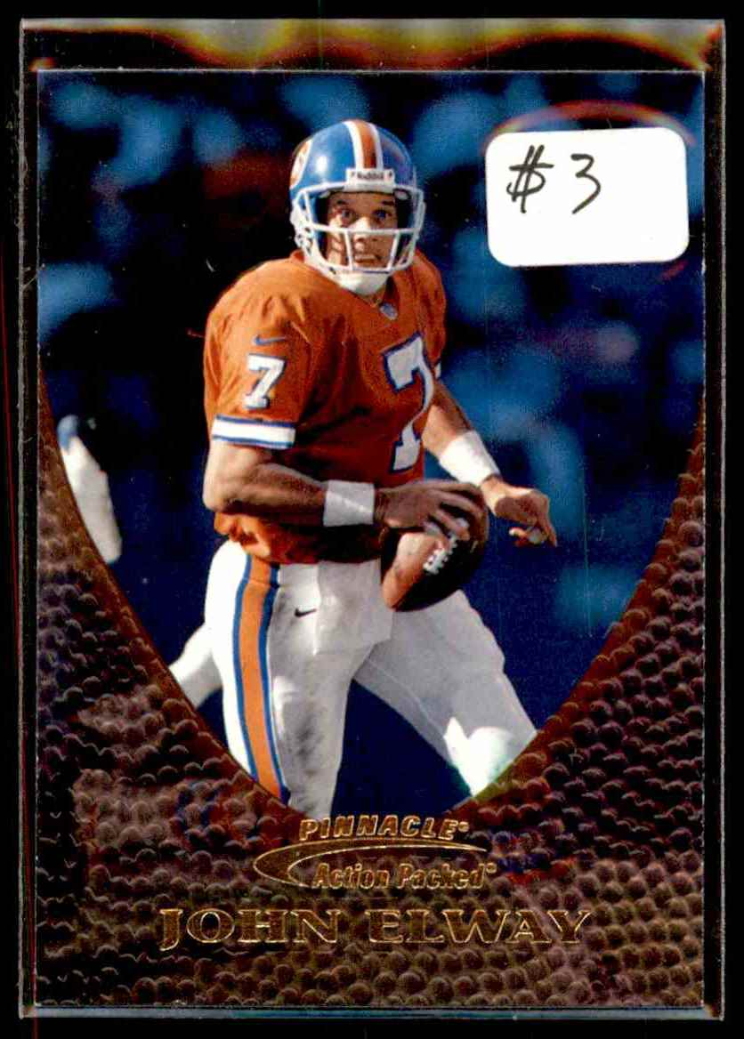 1997 Action Packed John Elway #10 card front image