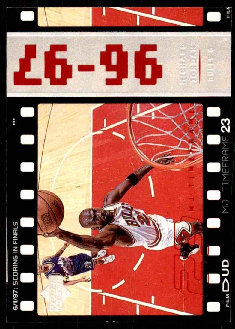 3531b13e8118dc 1998-99 Upper Deck Michael Jordan Living Legend Michael Jordan Tf 1996-97