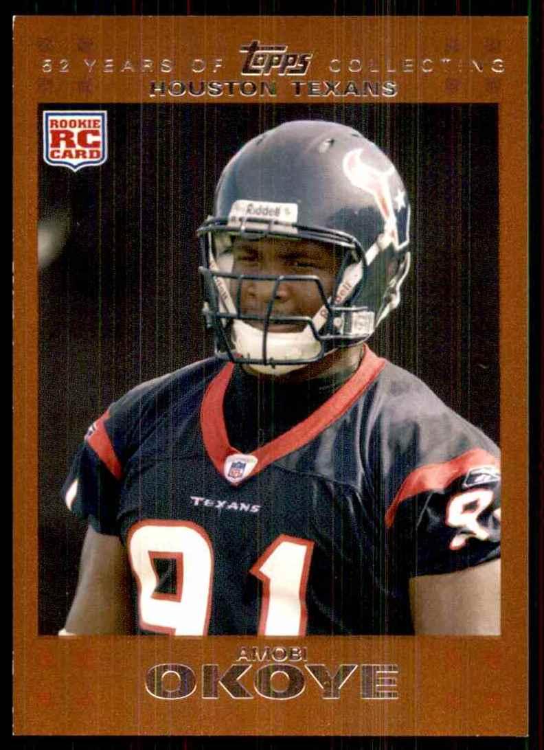 2007 Topps Copper Amobi Okoye #347 card front image