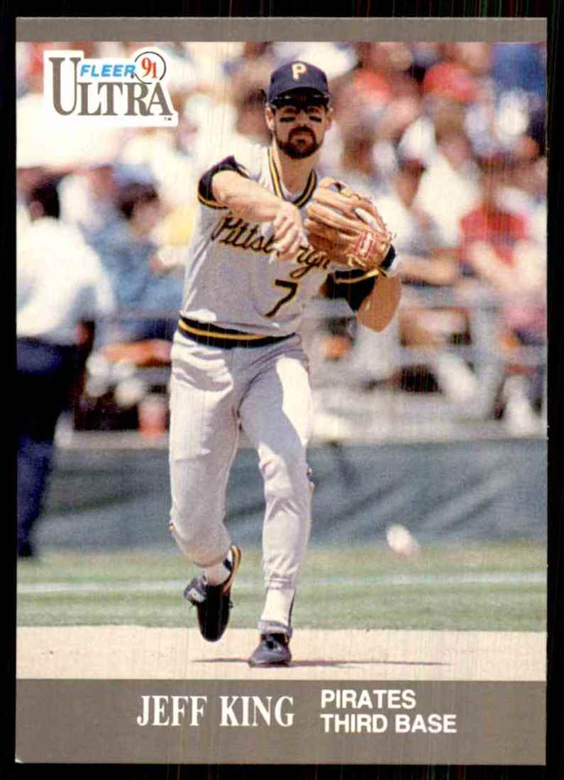 1991 Ultra Jeff King #280 card front image