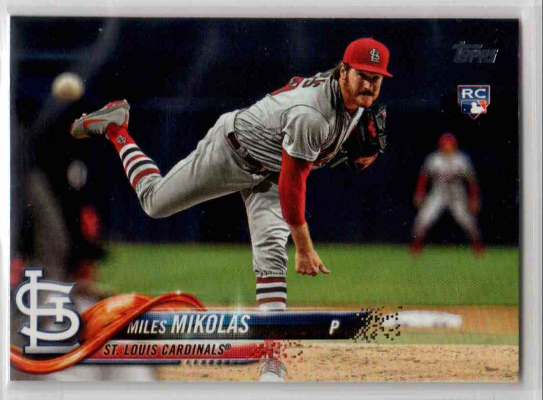 2018 Topps Update Miles Mikolas #US12 card front image