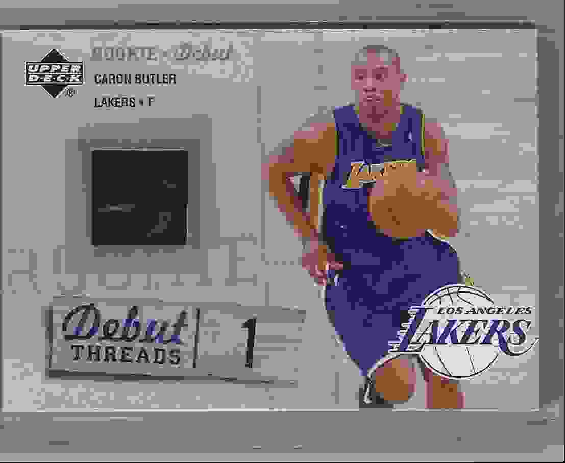 2005-06 Upper Deck Rookie Debut Threads Caron Butler #BU card front image