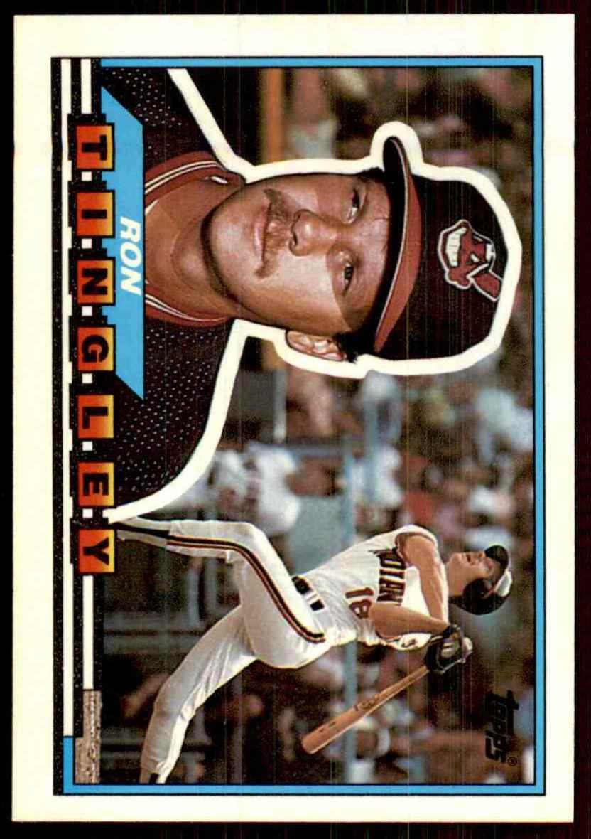 1989 Topps Big Ron Tingley 37 On Kronozio