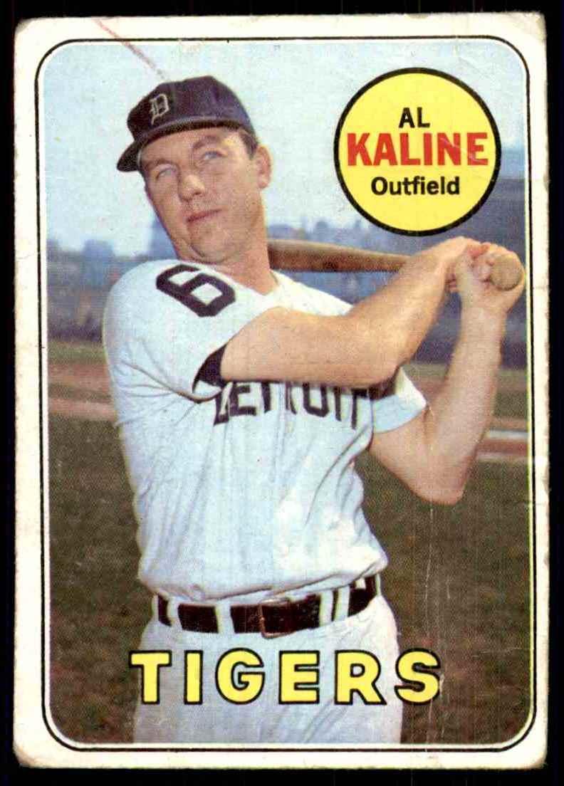 1969 Topps Al Kaline #410 card front image