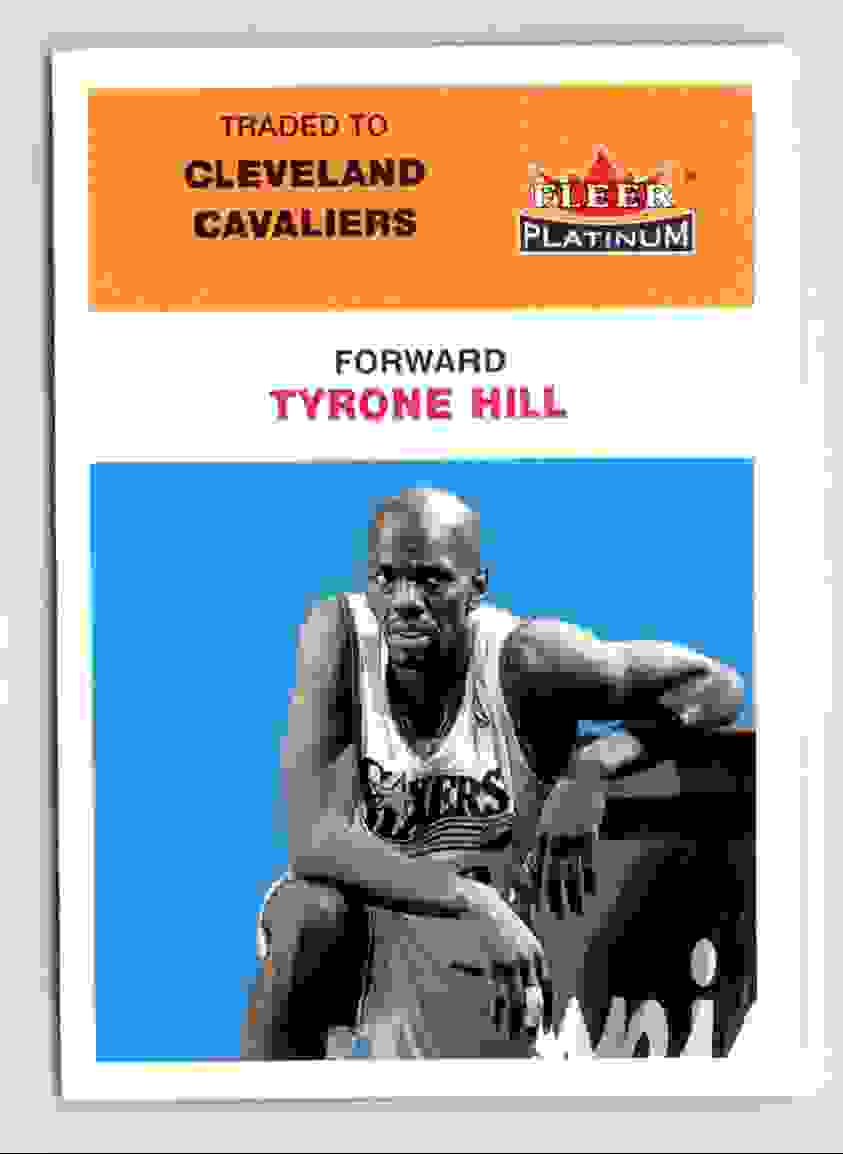 143 Tyrone Hill trading cards for sale