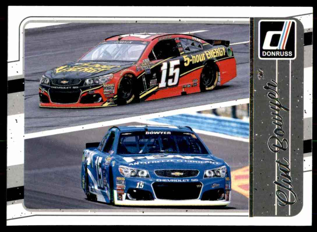 2017 Donruss Clint Bowyer #113 card front image