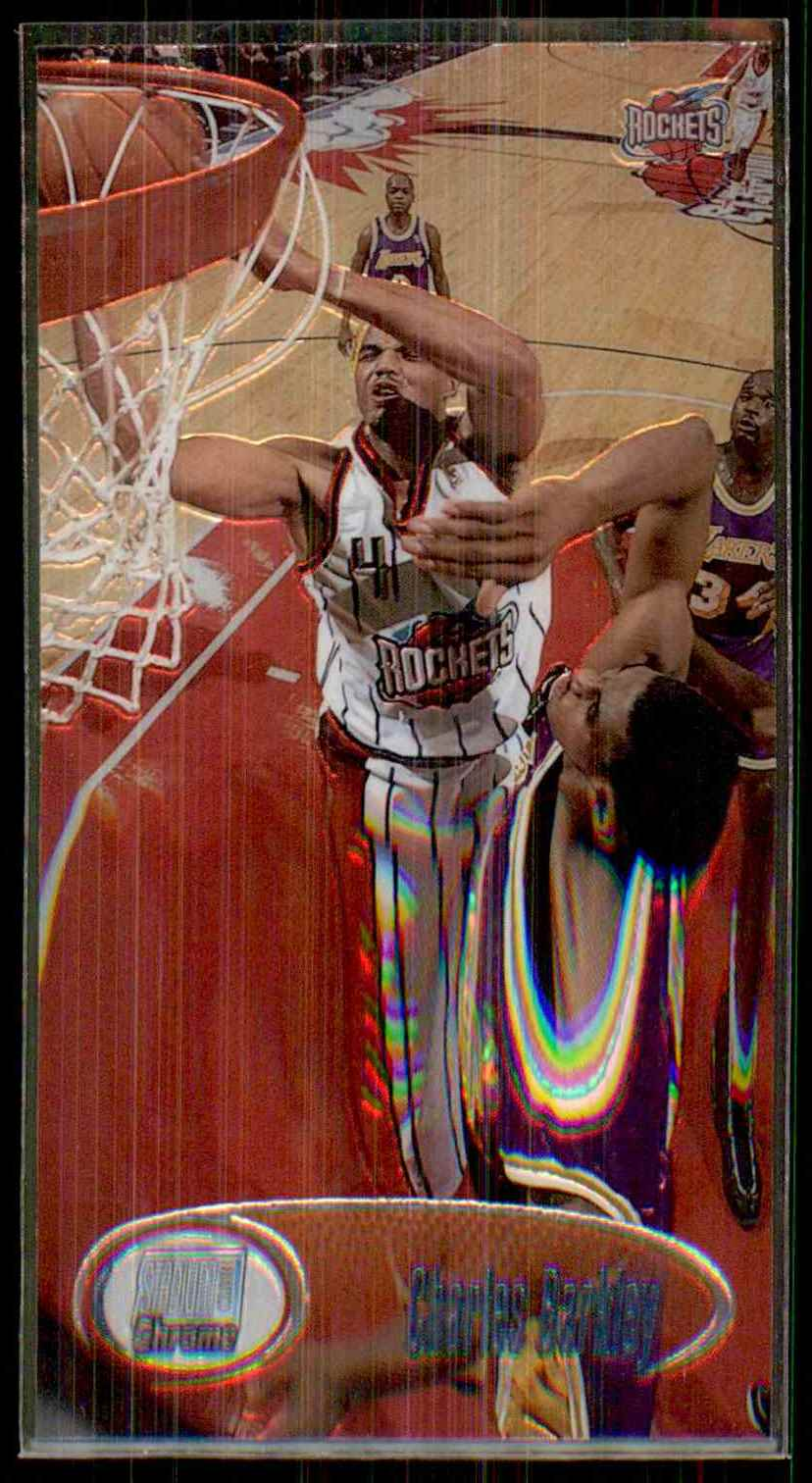 1998-99 Stadium Club Chrome Charles Barkley #SCC7 card front image