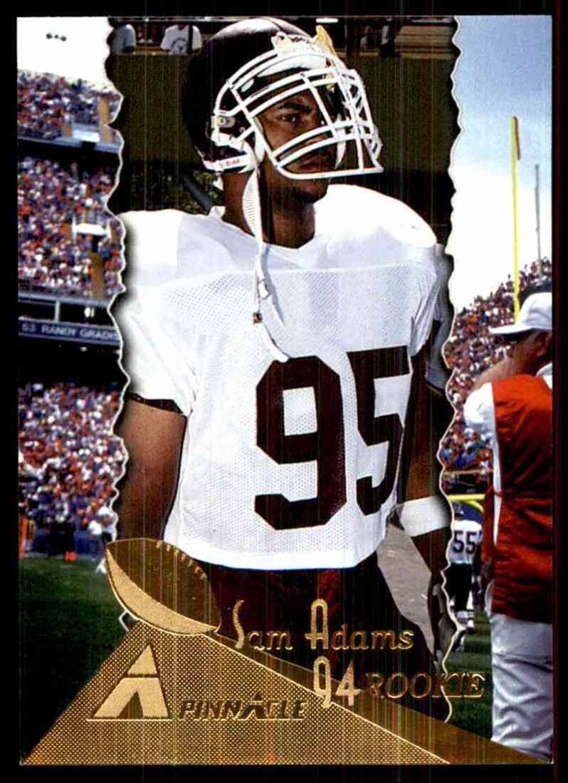 1994 Pinnacle Sam Adams RC #203 card front image