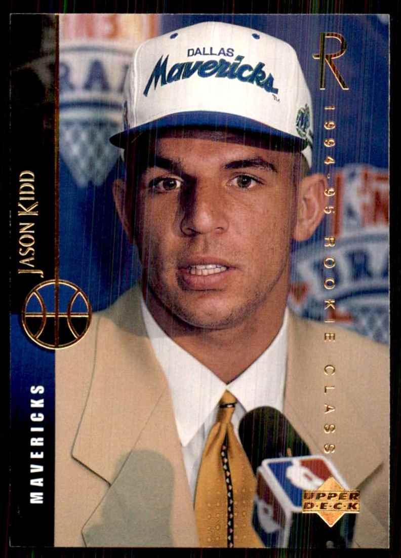 1994-95 Upper Deck Jason Kidd RC #160 card front image