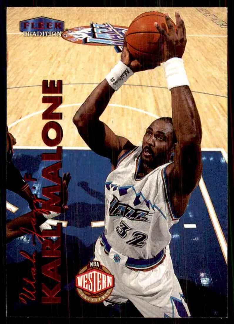 1999-00 Fleer Karl Malone #126 card front image