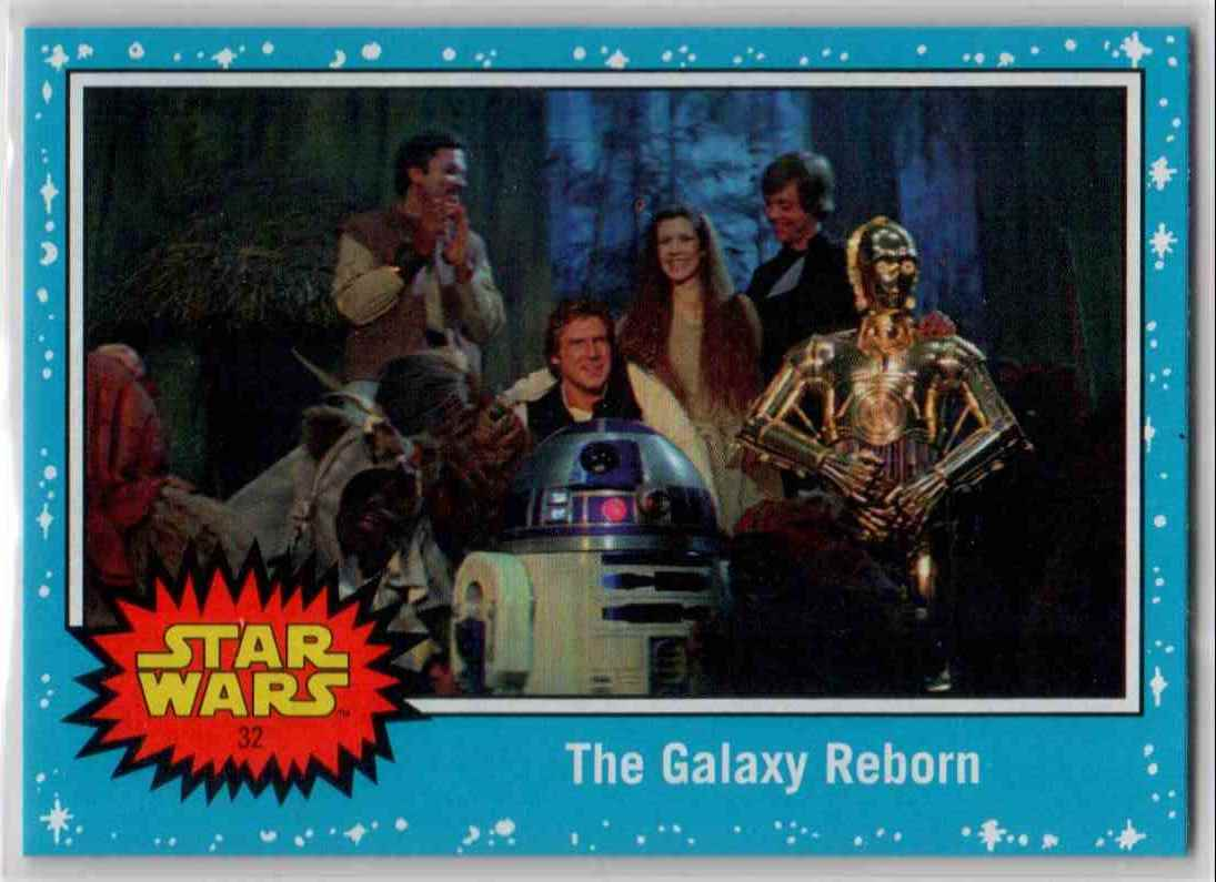 2019 Topps Star Wars Journey To Rise Of Skywalker The Galaxy Reborn #32 card front image