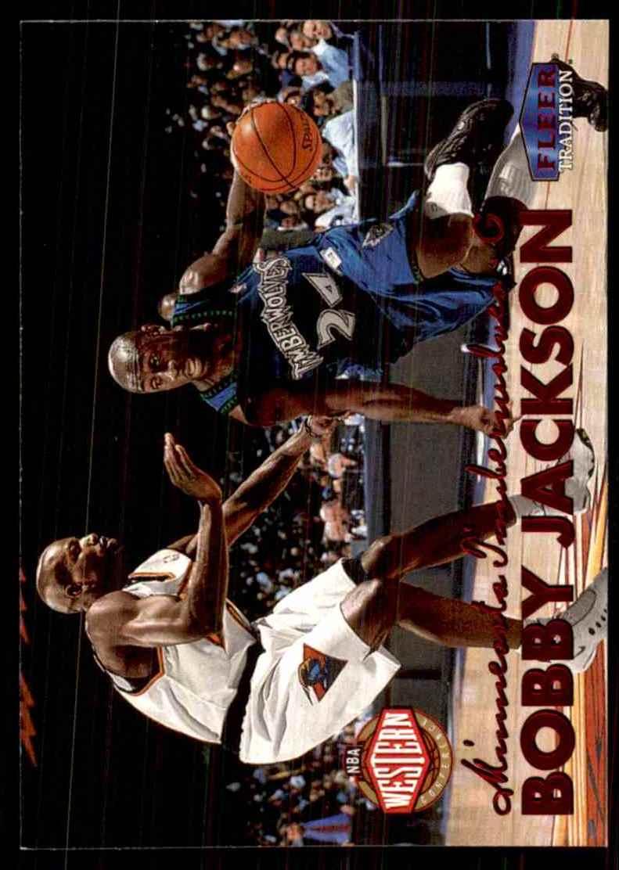 1999-00 Fleer Bobby Jackson #83 card front image