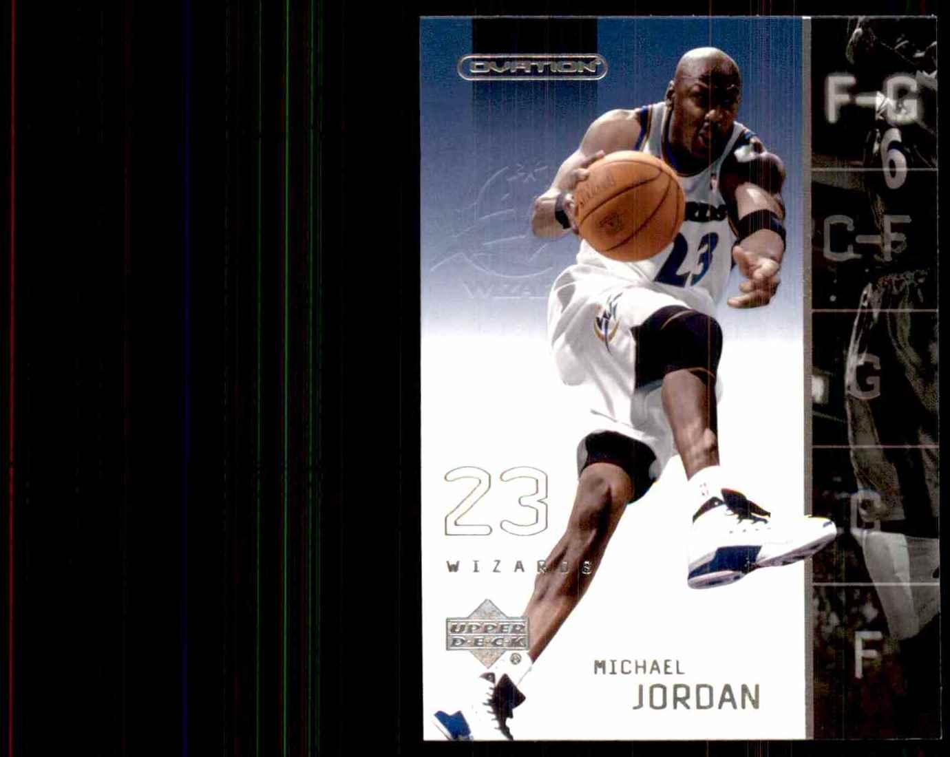 2002-03 Upper Deck Ovation Michael Jordan #87 card front image
