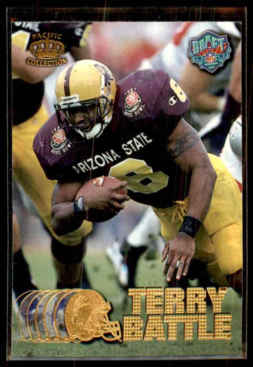 1997 Pacific Terry Battle #425 card front image