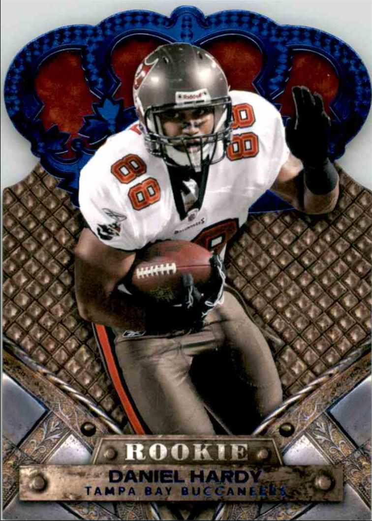 2011 Crown Royale Blue Daniel Hardy #122 card front image