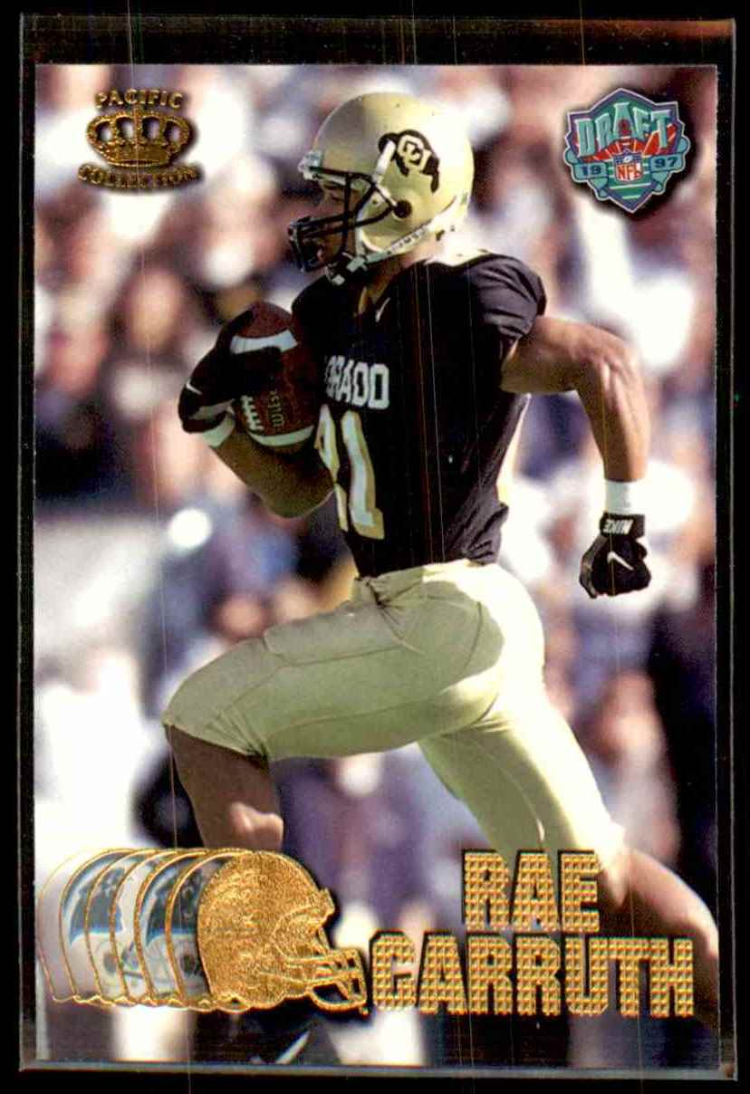 1997 Pacific Rae Carruth #428 card front image