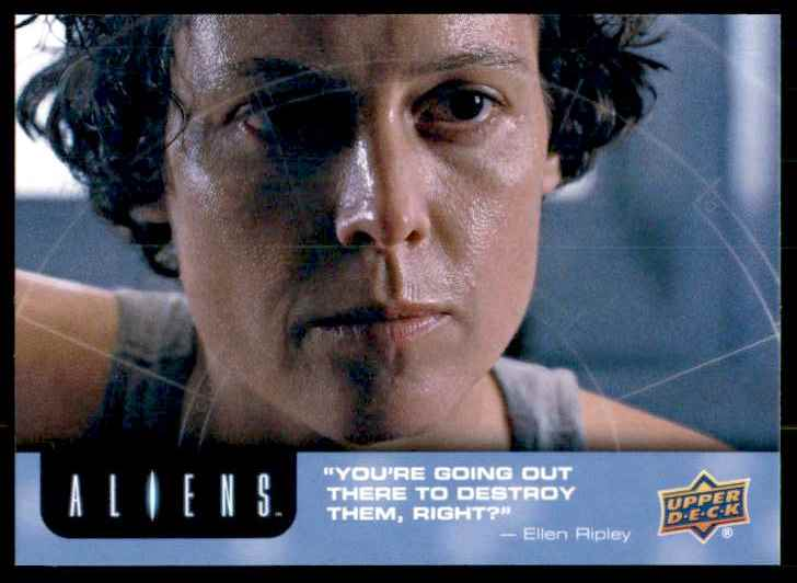 2018 Aliens Alright/ I'm In #15 card front image