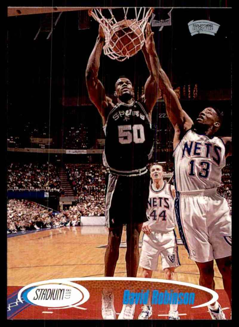 1998-99 Stadium Club David Robinson #66 card front image
