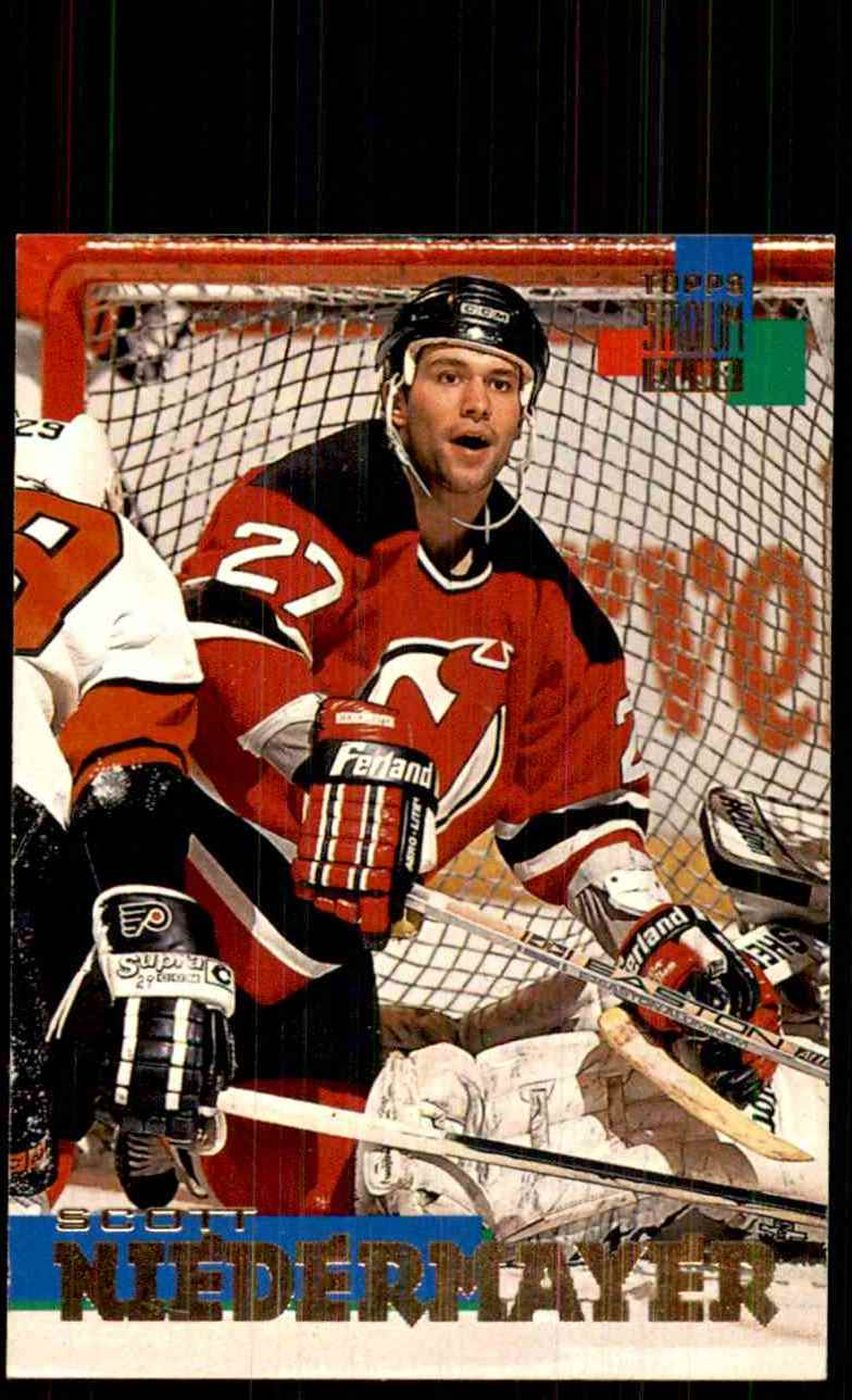 1994-95 Stadium Club Scott Niedermayer #93 card front image