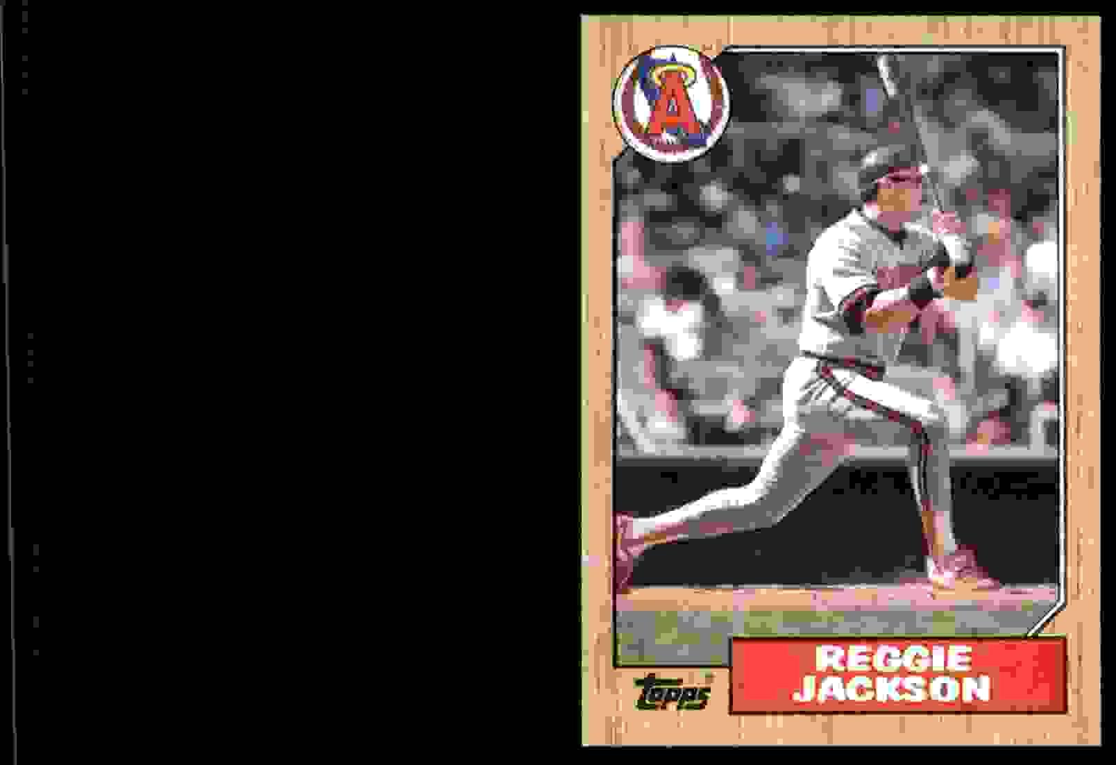 1987 Topps Reggie Jackson #300 card front image