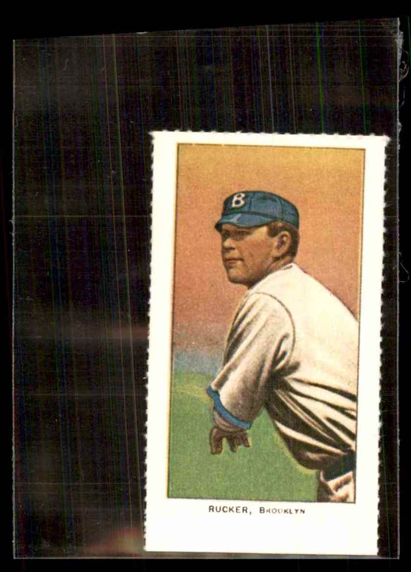 1909 T206 Reprint Nap Rucker #25 card front image