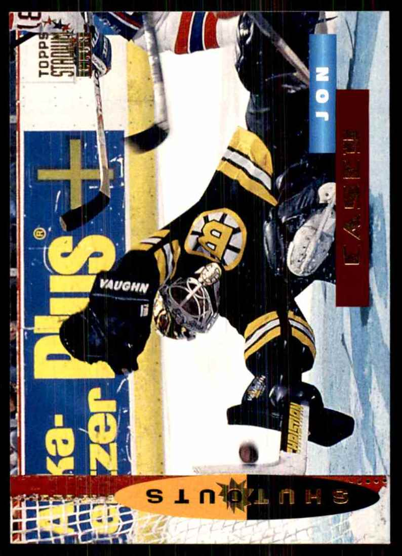 1994-95 Stadium Club Jon Casey So #184 card front image