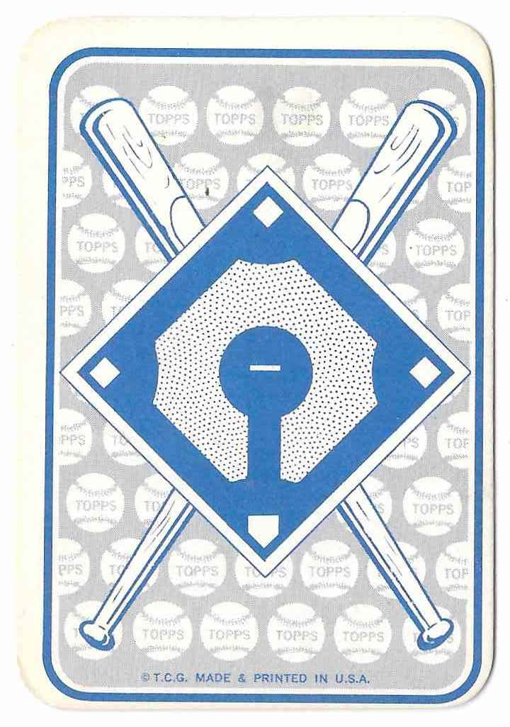1968 Topps Flyout Gene Alley #25 card back image