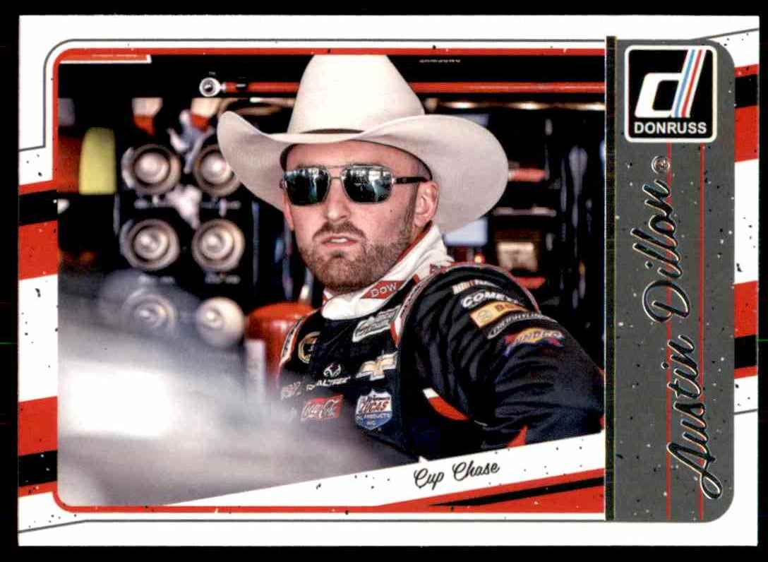 2017 Donruss Austin Dillon #132 card front image