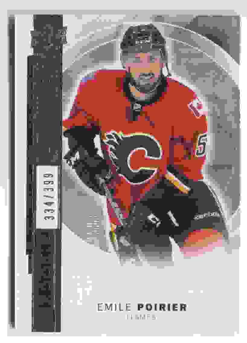 2015-16 Upper Deck Premier Emile Poirier #R-22 card front image