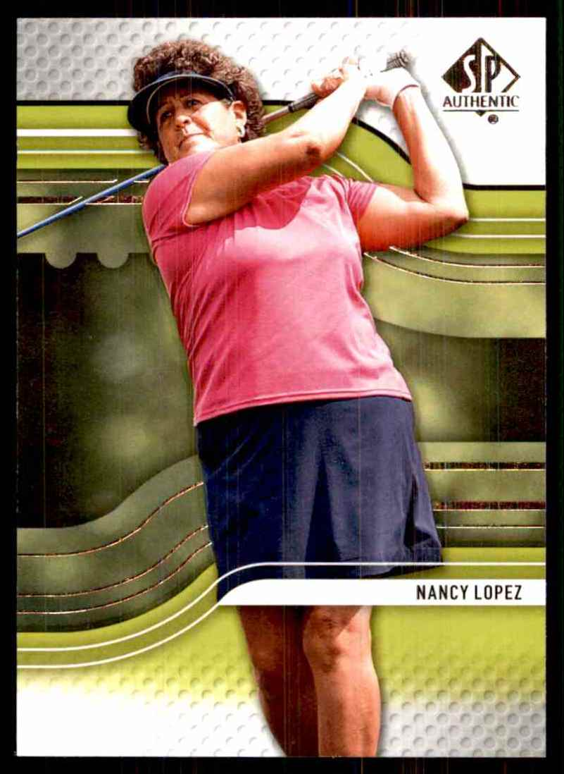 2012 SP Authentic Nancy Lopez #18 card front image