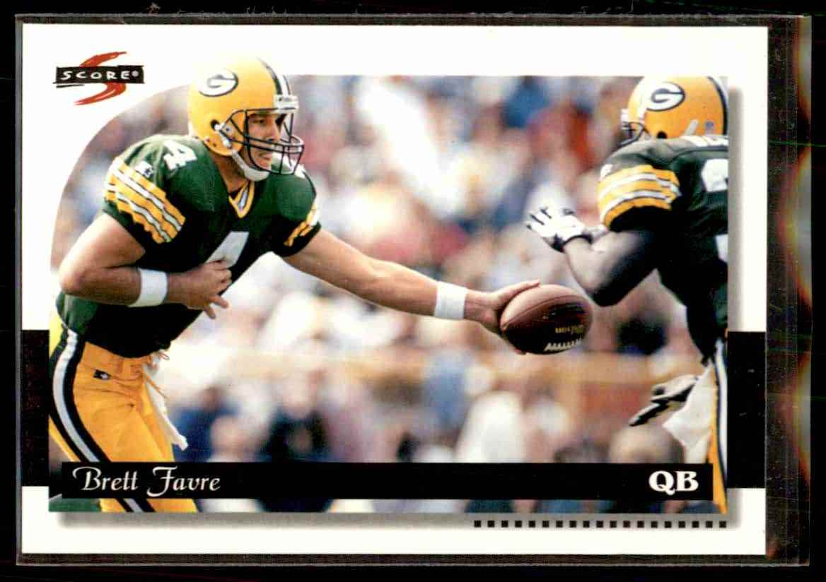 1996 Score Brett Favre 119 Card Front Image