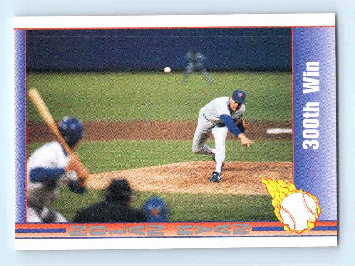 1991 Pacific Nolan Ryan Express 300th Win 171 On Kronozio