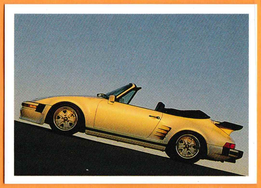 1991 Vintage Sports Cars Vintage Sports Cars Porsche Convertible #50 card front image