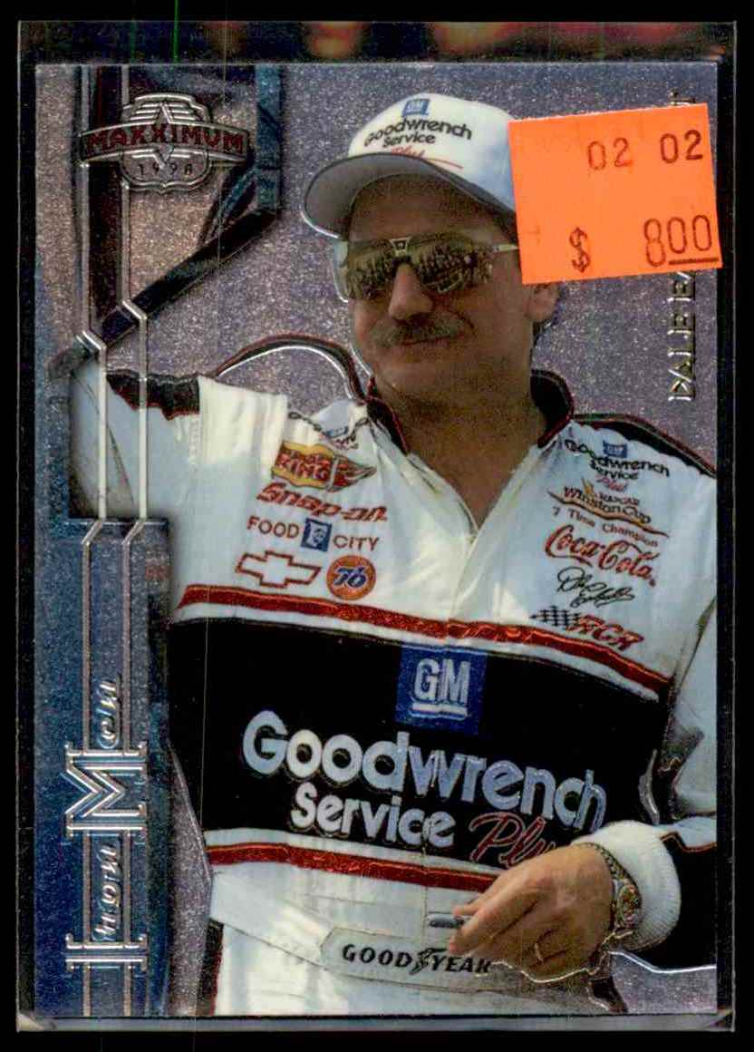 1998 Upper Deck Maxximum Dale Earnhardt #3 card front image