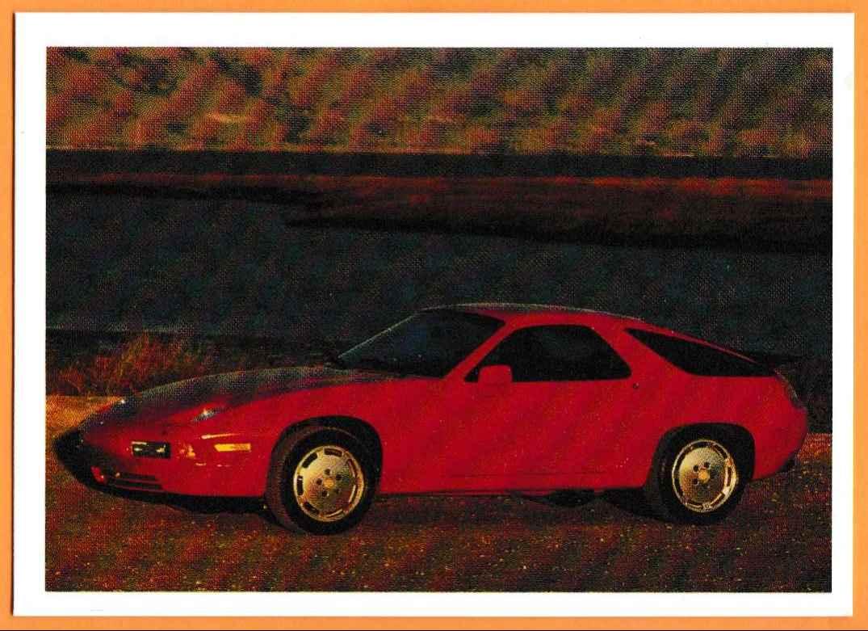 1991 Vintage Sports Cars Vintage Sports Cars Porsche S4 #30 card front image