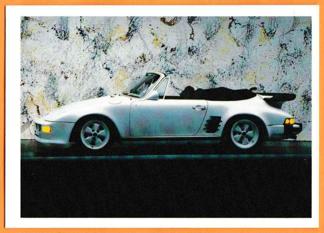 1991 Vintage Sports Cars Vintage Sports Cars Porsche Slopenose #75 card front image