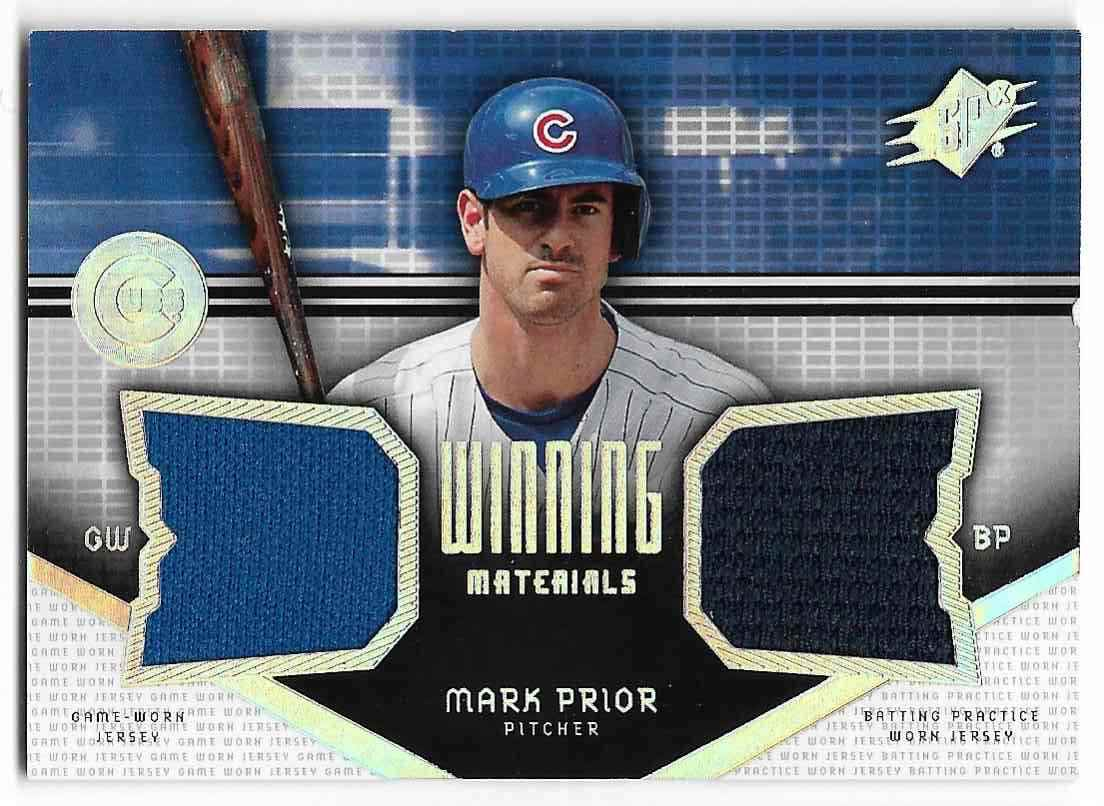 2004 SPx Mark Prior #WM-MP card front image