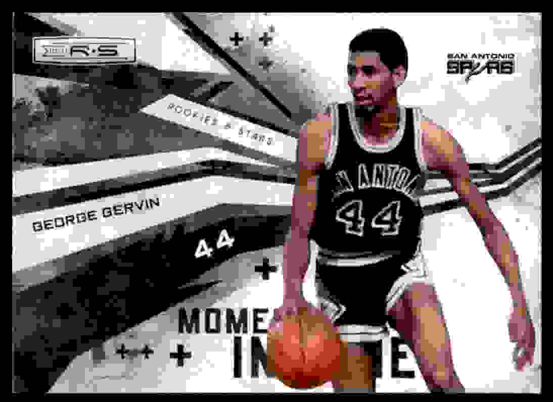 2010-11 Rookies & Stars George Gervin #5 card front image
