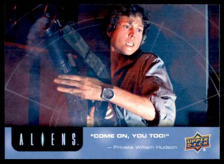 2018 Aliens Come On You Too #82 card front image
