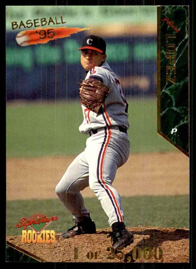 1995 Signature Rookies Albie Lopez #33 card front image