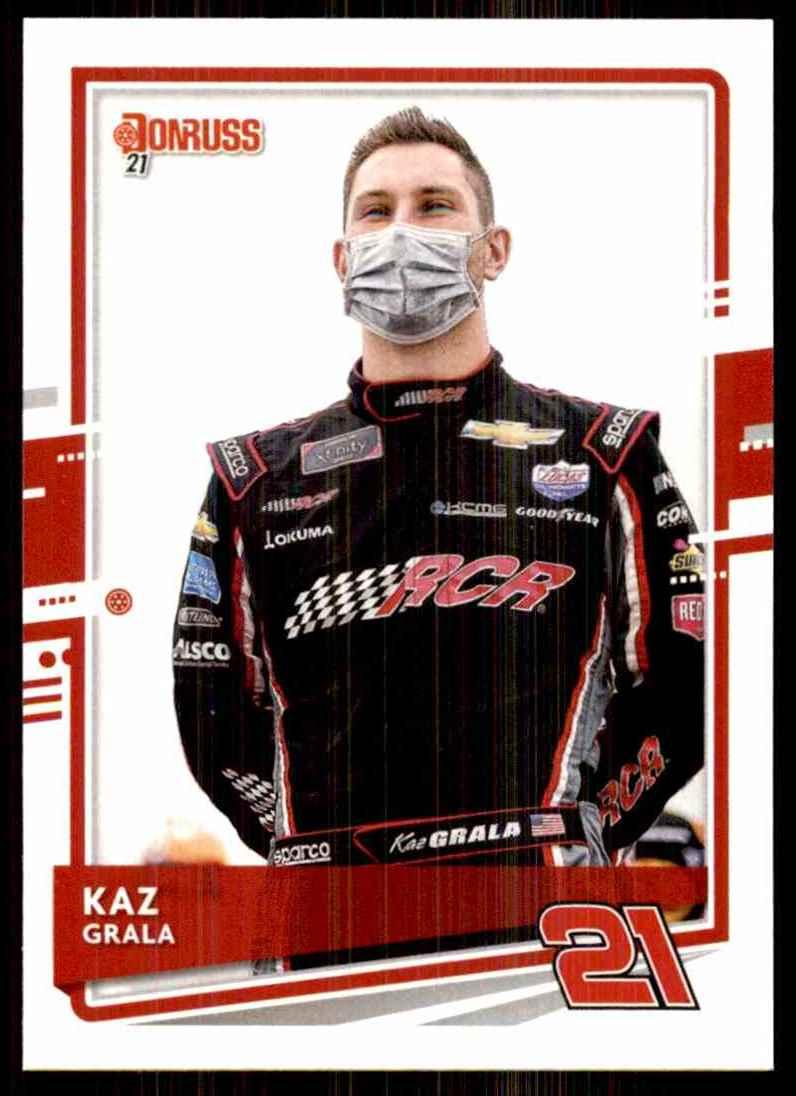 2021 Donruss Kaz Grala #94 card front image