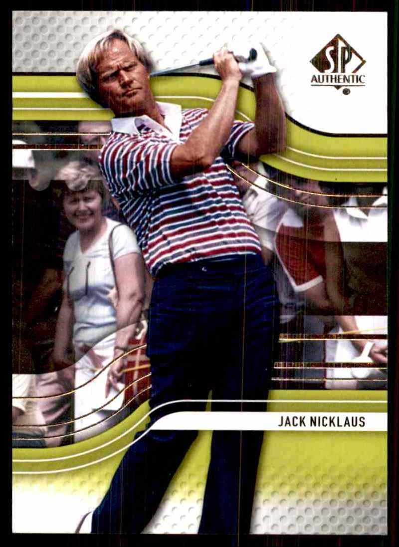 2012 SP Authentic Jack Nicklaus #2 card front image