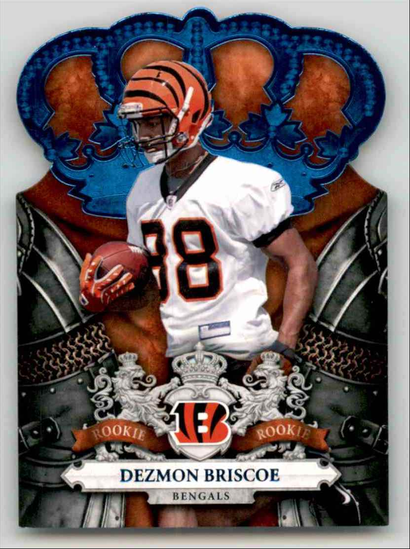 2010 Crown Royale Blue Dezmon Briscoe #130 card front image