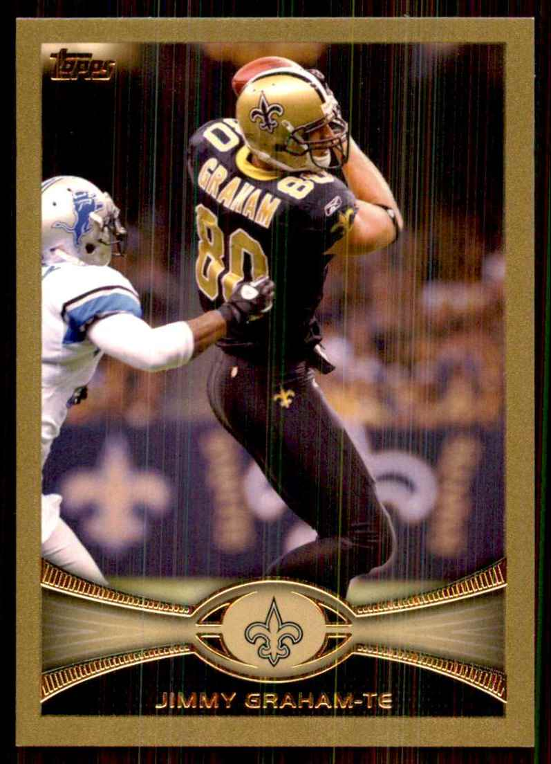 2012 Topps Gold Jimmy Graham #280 card front image