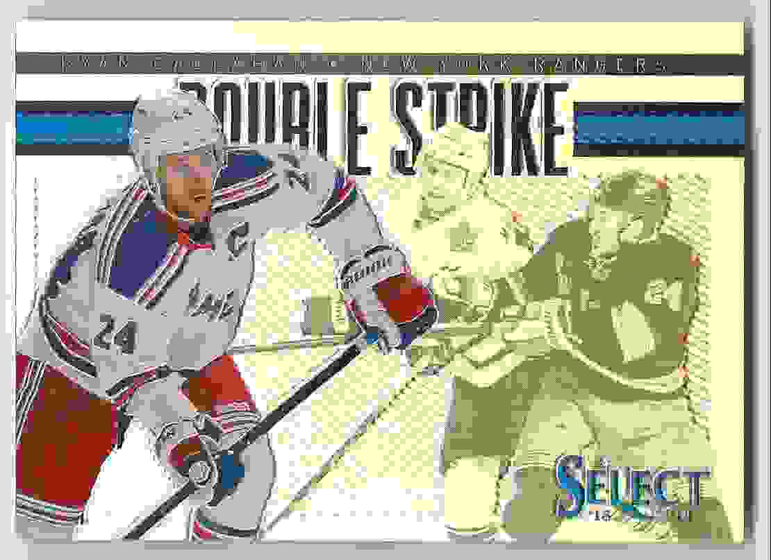 2013-14 Select Double Strike Prizms Ryan Callahan #DS-4 card front image