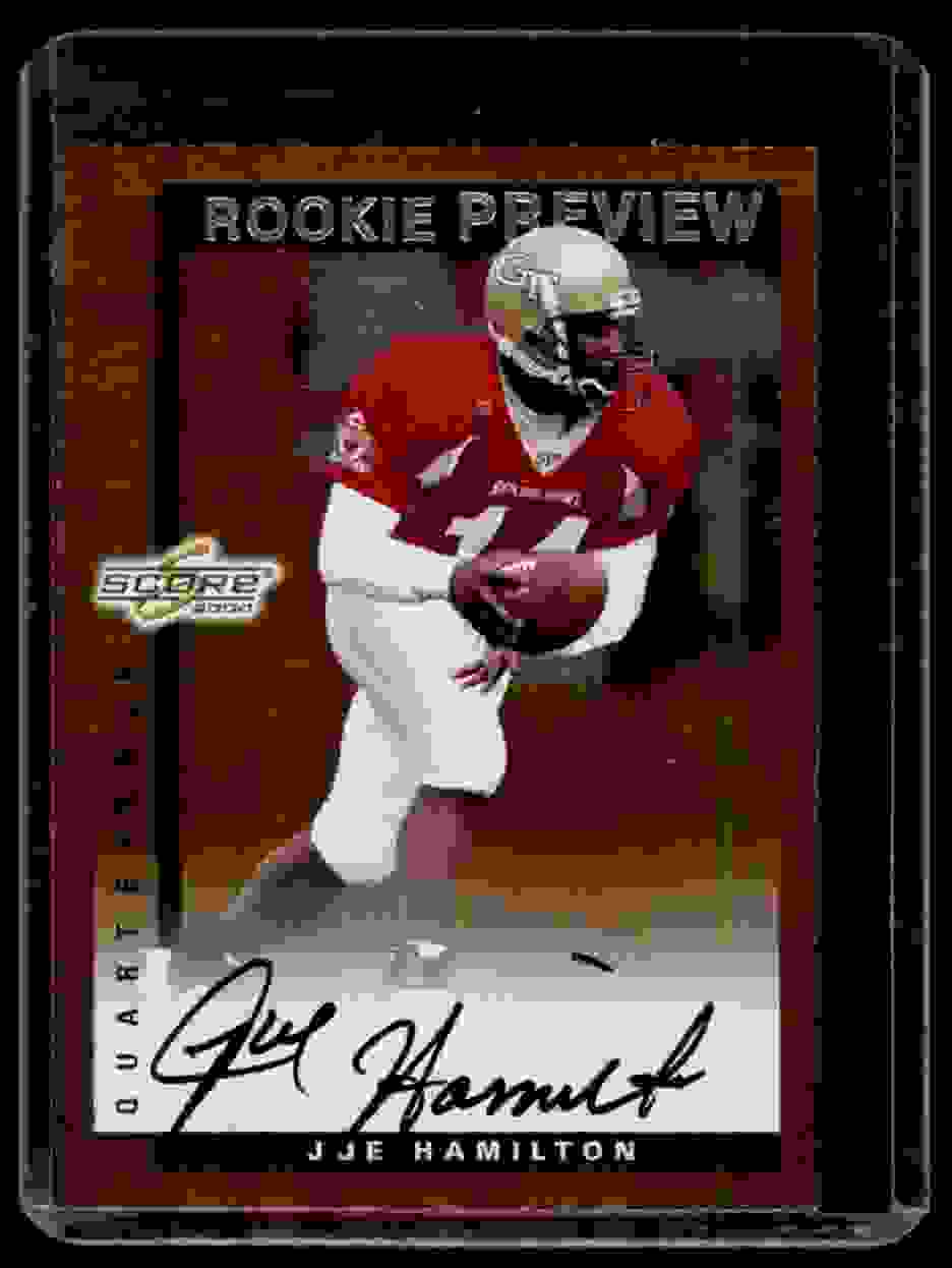 2000 Score Rookie Preview Autographs Joe Hamilton #SR53 card front image