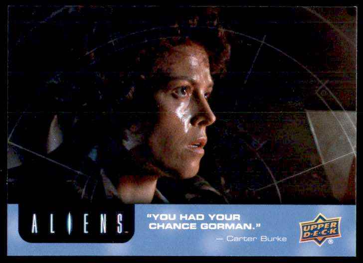 2018 Aliens Ripley Driving #55 card front image