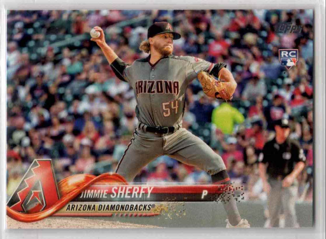 2018 Topps Series 1 Jimmie Sherfy #174 card front image