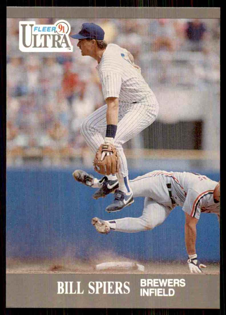 1991 Ultra Bill Spiers #181 card front image