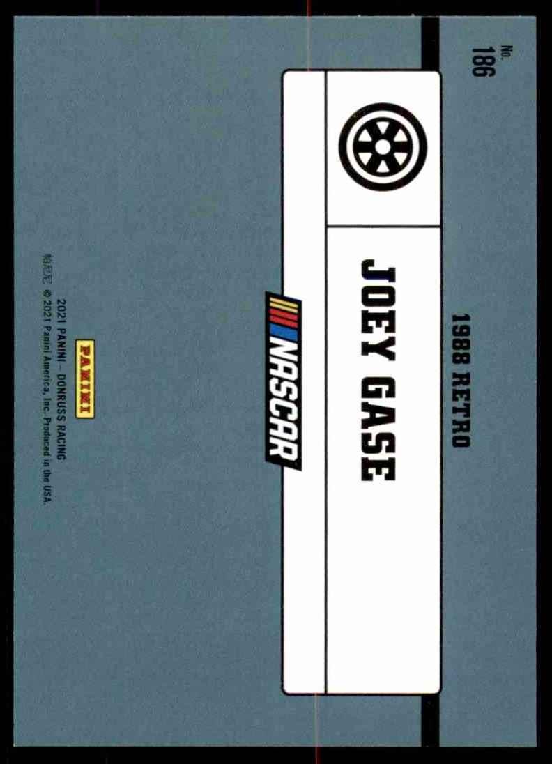 2021 Donruss Joey Gase Retro #186 card back image